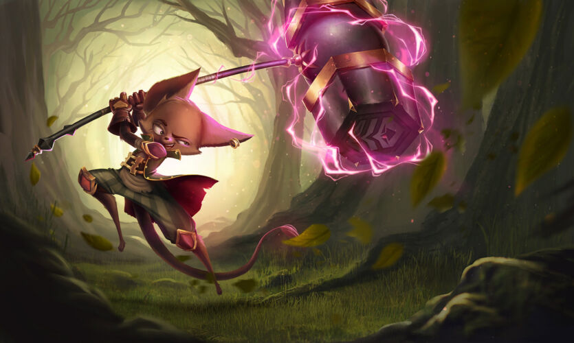 Mouse splash art